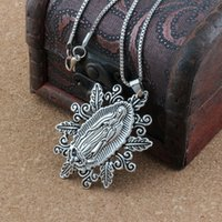 10pc lots Antique silver Our Lady of the Holy Scapular Medal...