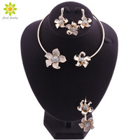 Bridal Jewelry Sets Gold Color Jewelry Sets For Women Weddin...