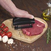 도구 조리 새로운 48 블레이드 니들 고기 연화제 스테인레스 스틸 나이프 고기 쇠고기 스테이크 망치 고기 연화제 해머 포를 쏴