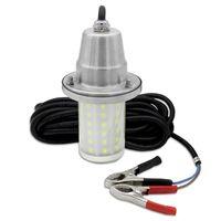 30W Fish Attractor Lampada IP68 impermeabile subacquea luce mare notte pesca LED richiamo illuminazione DC12V