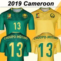 2019 Cameroon Nations Team ABOUBAKAR Mens Soccer Jerseys ETO...