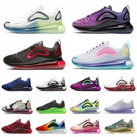 nike air max 720 Total Eclipse Sea Forest 720 Hommes Femmes Chaussures De Course Northern Lights Noir Or Red Sunrise Hommes Baskets Sport Sneaker 36-45