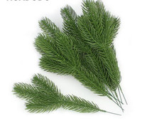 Künstliche Kieferzweige gefälschte Pflanzen Künstliche Blumen Weihnachtsbaum für Weihnachtsbaum Ornamente Dekorationen GB741
