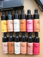 NIconic لندن إضاءة السائل تمييز في تألق تألق الأصلي توهج ثلاث وجه اللون يشكلون تمييز 12 لون