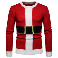 good quality Pullover Men Sweater 2019 Christmas Autumn Wint...