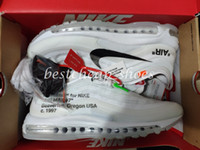 new product b948e 3f37c OFF White x Nike Air Max 97 OW Virgil Alta calidad OFF 97 OG Bullet  Zapatillas
