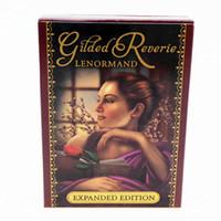 Полный английский читал судьбу ленорманд Oracle Cards загадочные романские ведьмы Tarot Cards палуба настольная игра для гадания
