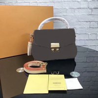 2021 Натуральная кожаные женские сумки сумки CX # 198 Мода M41581 Степень