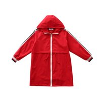 Girls Jacket Girl Outerwear Kids Coats & Jackets Children Toddler Cardigan 6~16Y Spring Autumn Trench Outfits
