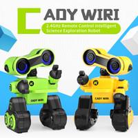 R13 Early Education Roboter, Air Gesture Voice Control, Tell Story, Tonaufzeichnung, LED-Leuchten, Programmierung Aktion, Weihnachten Kid Geburtstagsgeschenk, 2-1