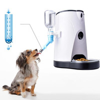 Pet Smart Feeder pour chien et chat Quantitative mobile APP surveillance à distance automatique d'un bouton d'alimentation en eau de vision nocturne infrarouge