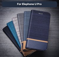 wholesale Leather Wallet Case For Elephone U Pro Business Ph...