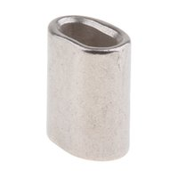 Marine 304 Stainless Steel Cable   Wire Rope Ferrules 7.0 mm to 12.0 mm