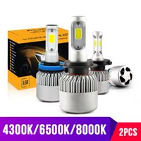 3000 K H4 LED H7 H11 H8 HB4 H1 H3 HB3 Oto S2 Araba Far Ampuller 72 W 8000LM Araba Styling 6500 K 8000 K Led Automotivo