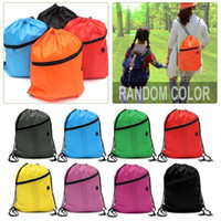 709b749aebd8 New Arrival. 1pc Random Color Backpacks Drawstring Bag Polyester Bag For  Outdoor Cycling Sports Backpack Rucksack Waterproof ...