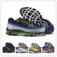2019 new designer Mens bw Running Shoes gold red Blue White ...