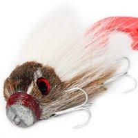 Rosewood 1шт 85г замиранием Искусственное Big Mouse недропользованию Прикрепленный с винтовым Soft Grub щуки сома Fhishing приманок