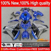 OEM Kit usine bleu pour HONDA CBR1000 RR CBR 1000 RR CC 1000CC Body 79NO.121 CBR1000RR 08 09 2010 2011 CBR 1000RR 2008 2009 10 11 carénages