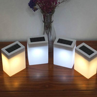 BRELONG Solar Outdoor IP65 Waterproof Wall Lamp Decoration Garden Lamp Bar Lighting White   Warm White Light