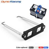Kit de la batería de aluminio Kit de la barra de sujeción con ganchos de bandeja de acero inoxidable para Honda Civic / CRX S2000 para Acura Integra RSX