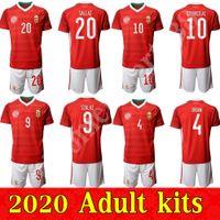 2020 كأس الأوروبي هنغاريا المنزل لكرة القدم الفانيلة الوطنية فوتبول كرة القدم camisetas قميص الرجال عدة مايوه ميليا قمم trikot