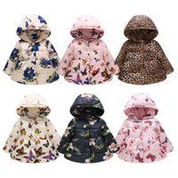 11 Arten Kinder Wintermantel Baby Schneeanzug Mädchen Floral Winter Outwear Outfits Hoodies Kleidung Kinder Designer Baumwolle Gefütterte Jacke D083