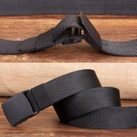 Belts Militar Homens do Exército ajustável Homens Belt Outdoor Viagem tático cinto com plástico Buckle para Calças 120 centímetros