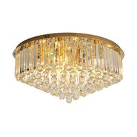 New design modern dimmable crystal ceiling chandeliers lamps...