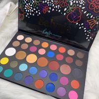 2019 New Salvaje ombre à paupières colorpop x Becky g 39 couleurs ombre à la paupière SHIMMER Matte Eye Shadow Palette