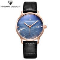 xfcs Vestido Relógios Relógio Feminino PAGANI design da marca Lady Moda Quartz Assista Mulheres 30M impermeável marcação shell de Luxo
