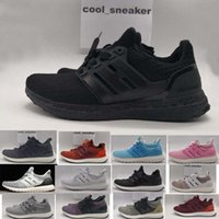 Adidas ultra 4.0 core Triple Black bianco MULTI-COLOUR Primeknit train Runner Running sneaker scarpe sportive per uomo donna Lover's