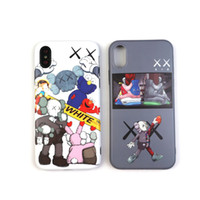 KAWS Designer Handyhülle tpu Colourful Cover für Iphone X XR XS und MAX 6 / 6S PLUS 7 8 Back Cover für Apple