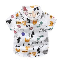 2019 Kidsclothes Frühling Herbst Jungen Baumwolle Blusen Kinder Jungen Langarm Shirt Kinder Mode Hemd 5-14 Yearsturn Unten Kragen Mutter & Kinder