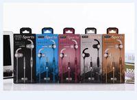 Venta al por mayor Earhook 3.5mm Deporte Auriculares con cable auriculares auriculares con micrófono para Bass de alta calidad de Samsung Xiaomi para teléfono móvil