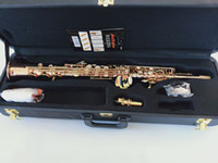 Foto reale New Japan YANAGISAWA S992 B flat Sassofono soprano di alta qualità strumenti musicali YANAGISAWA Soprano professionale