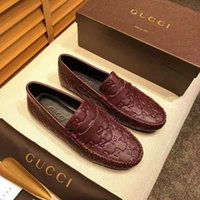 Personality and fashion famous Luxury designer loafer slip o...