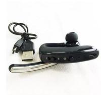 negocio gancho para la oreja Auriculares Bluetooth Auriculares inalámbricos Bluetooth auricular estéreo 4.0 del bluetooth para el iphone Samsung NEGRO con menor