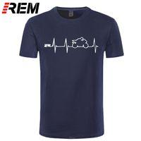 T-shirts van heren T-shirt T-shirt T-shirt T-shirt Japan Motorfietsen Heartbeat GSXR 1000 750 600 K7