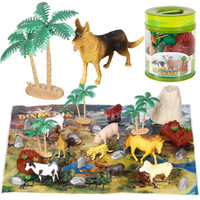 wholesale For Boys Dinosaurs Triceratop Model Toys Poultry J...
