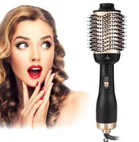 2020 new Golden color One- Step Hair Brush Dryer & Volumizer ...