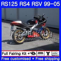 RS-125 ل Aprilia RS4 RSV125R RS 125 RS125 Hot black 99 00 01 02 03 04 05 318HM.24 RS125R RSV125 R 1999 2000 2001 2002 2003 2005 Fairing