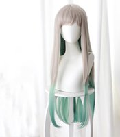 Anime Kostümleri Tuvalete Bağlı Hanako-Kun Jibaku SHOUNEN HANAKO KUN Cosplay Peruk Nene Yashiro Kostüm Sentetik Saç Peruk + Kap