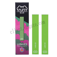 Vape Puff Bar Disposable Pod 280mAh Battery 1. 3ml Cartridge ...