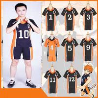 Haikyuu Shouyou Hinata Karasuno Volleyball Uniform Jersey Cosplay