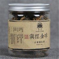 60g Çin Organik Siyah Çay Yunnan El yapımı Dianhong altın top Konserve Kırmızı Çay Yeni Çay Yeşil Gıda Sıcak satış Pişmiş