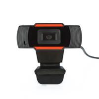 Quente A870C USB 2.0 Camera 640x480 Video Record HD Webcam câmera web com microfone para computadores para laptops de PC