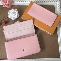 Borse a tracolla originali in vera pelle di vacchetta Modello di borse a mano di alta qualità di lusso Pochette Felicie Catena Borse da donna 62467