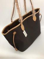 32 cm donna shopping sacchetto di alta qualità Borsa in pelle PU Tote New Fashion Borsa a tracolla Numero di serie Codice data