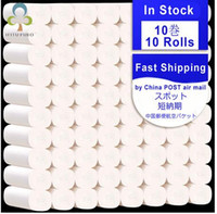 12 roll lot Fast Shipping Toilet Roll Paper 4 Layers Home Ba...