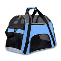 Portable Travel Pet Carrier for Cat Dog Backpack Carrying Ha...